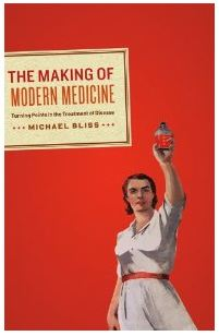book cover for the making of modern medicine