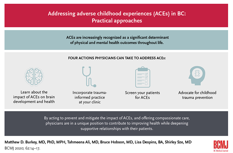 Addressing adverse childhood experiences (ACEs) in BC: Practical approaches