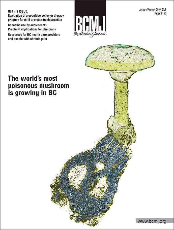 Cover image of BCMJ Volume 61 Issue 1 (January/February 2019)