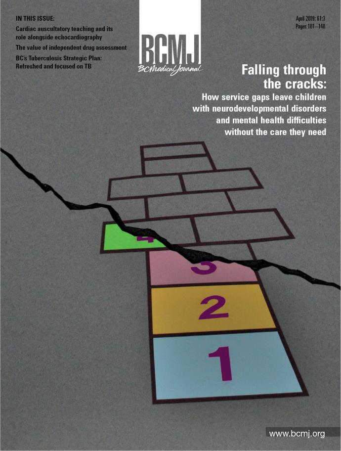 BCMJ Vol 61 No 3 cover