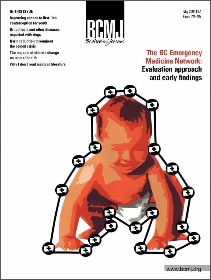 BCMJ Vol 61 No 4 cover