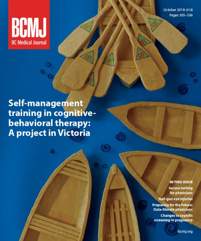 BCMJ Vol 61 No 8 cover