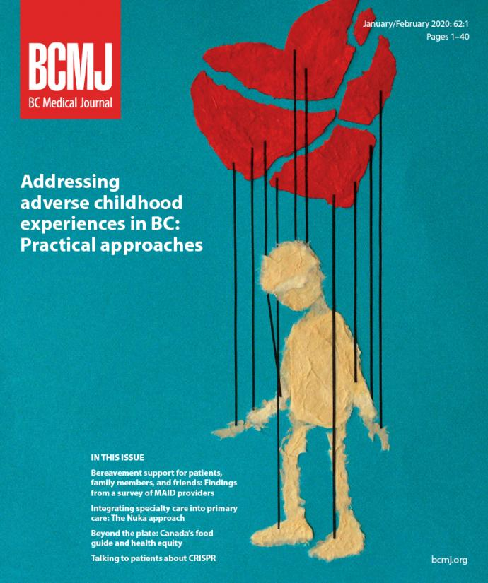 BCMJ Vol 62 No 1 cover
