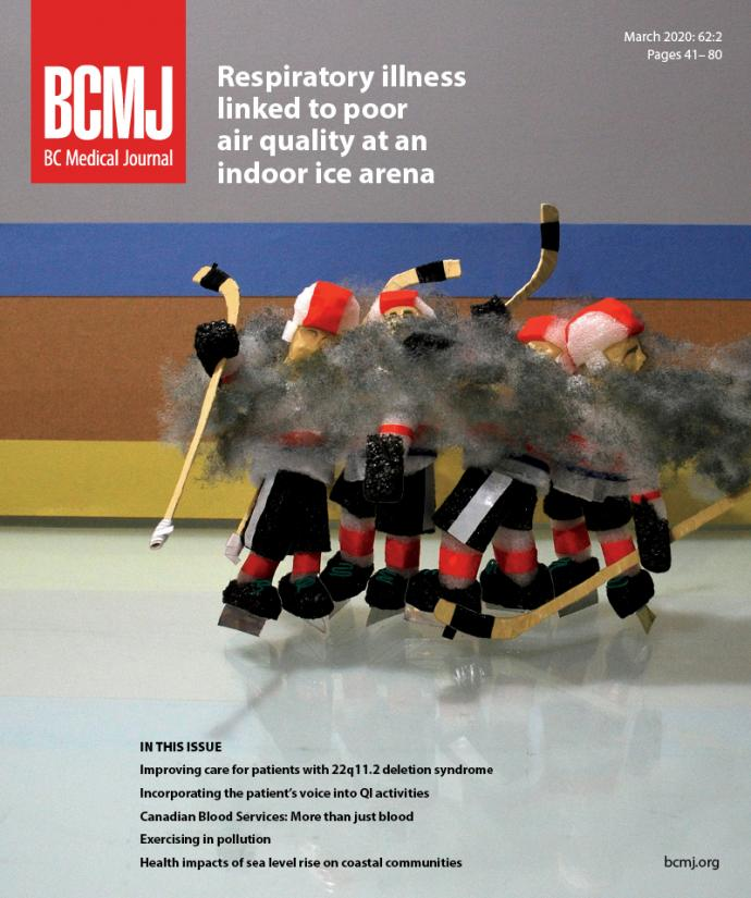 BCMJ Vol 62 No 2 cover