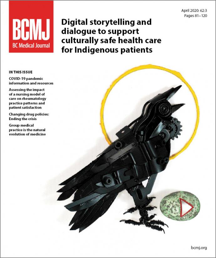 BCMJ Vol 62 No 3 cover