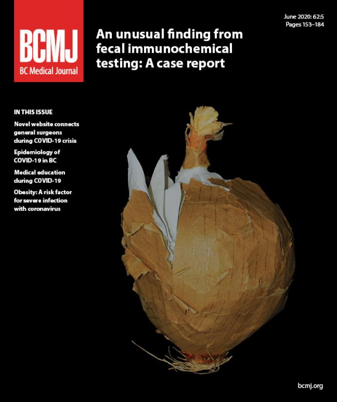 BCMJ Vol 62 No 5 cover
