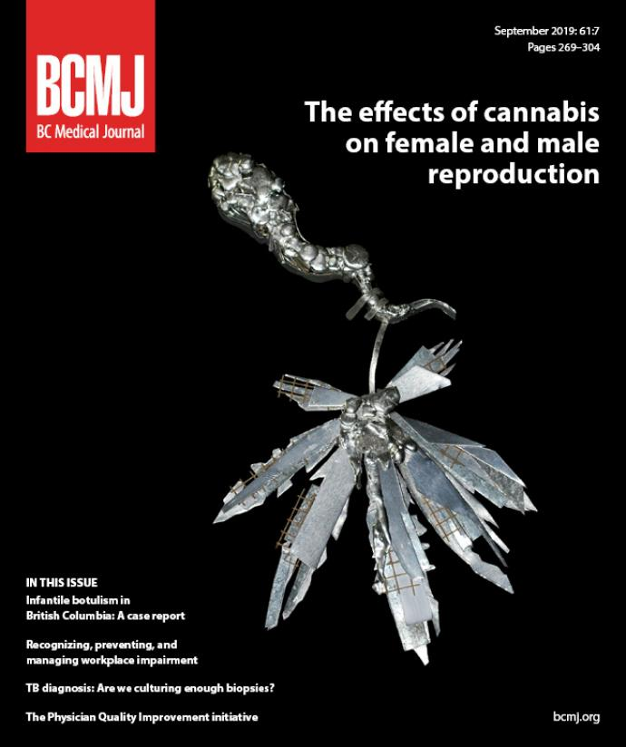 BCMJ Vol 61 No 7 cover