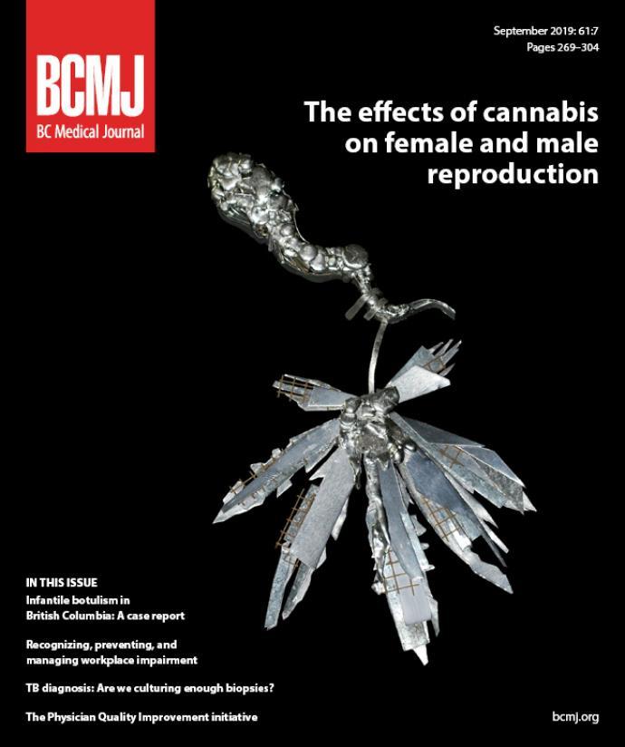BCMJ Vol 61 No 7 cover