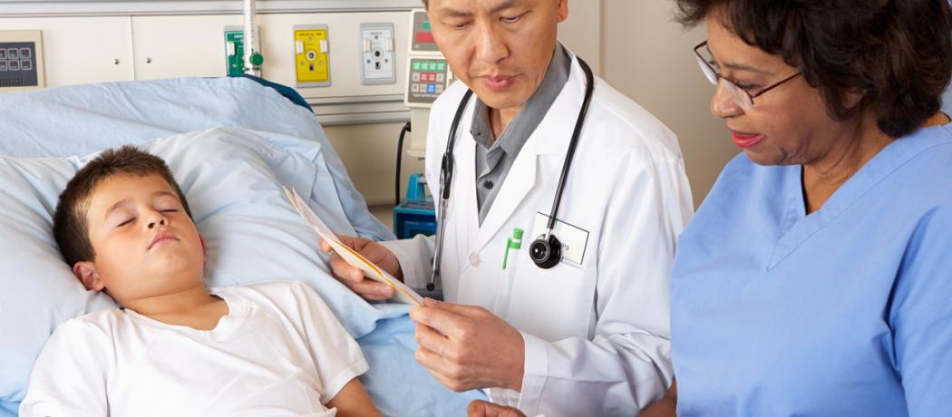 Where are family physicians in the hospital care of their patients?