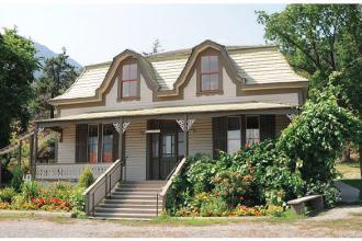 Dr Miyazaki's house in Lillooet.