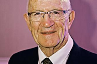 Dr Gerald Stewart, past president of Doctors of BC, was one of the first recipients of the CCFP designation.
