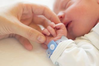 A newborn baby