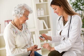 """""""First do no harm"""": Reflections on the application of consensus guidelines for diabetes and other chronic conditions in residential care"""