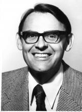 Dr Patrick McGeer portrait