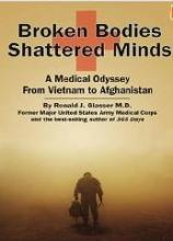 book cover for broken bodies, shattered minds
