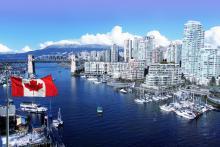Skyline of Vancouver, British Columbia