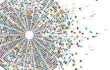 Circular genetic sequencing illustration