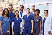 A team of doctors