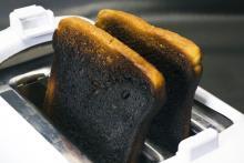 Burning toast