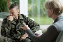 War veteran in counselling - PTSD