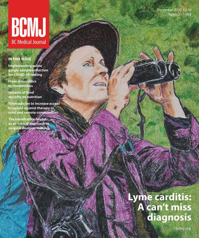 BCMJ Vol 62 No 10 cover