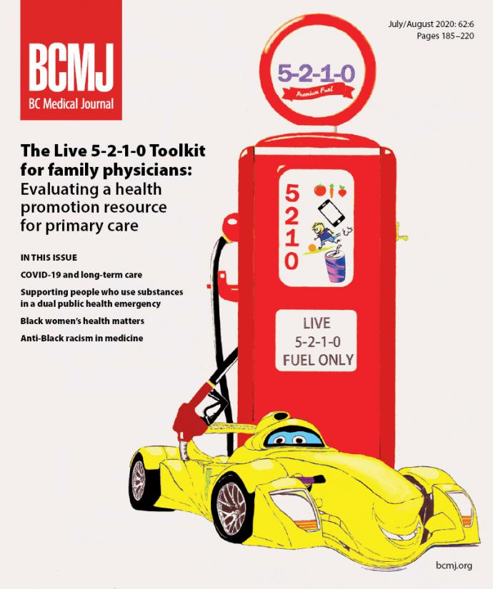 BCMJ Vol 62 No 6 cover