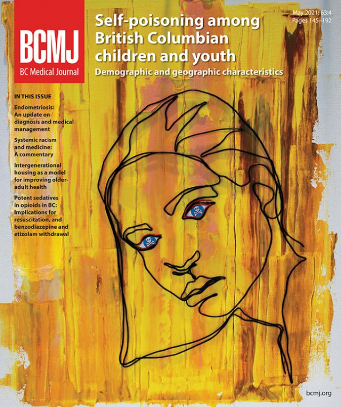 BCMJ Vol 63 No 4 cover