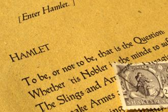 A page from Hamlet