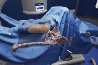 Immersive virtual reality in medical education