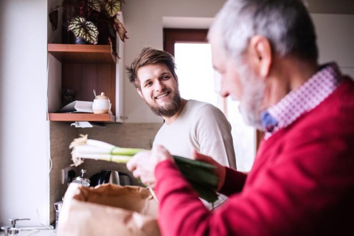 Intergenerational housing as a model for improving older-adult health