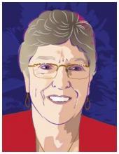 proust portrait of Dr. Lindsay Lawson