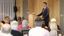 Doctors of BC president Alan Ruddiman's lunchtime address