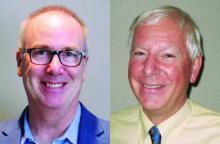 Dr David Esler and Dr Robert Vroom