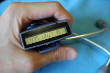 A pager is shown next to a stethoscope
