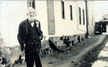Photograph of Dr John Sebastian Helmcken, 1917. British Library / Public domain