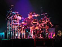 Neil Peart, drummer for Rush