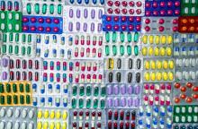 Assortment of antibiotics, over prescription of antibiotics