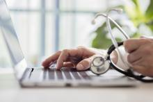 Physician registering online