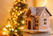 A gingerbread house like no other